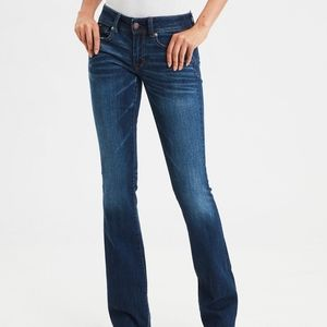 AEO Super Stretch Kick boot Jeans 00 Short